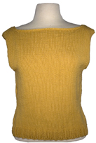 boatneck shell knitting pattern