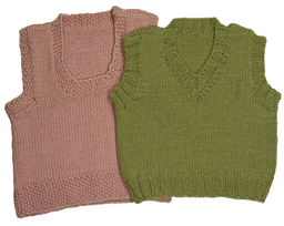 baby vest knitting pattern