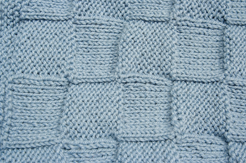 Easy Knitting Pattern for Baby Blanket - Instant Download Momogus Knits