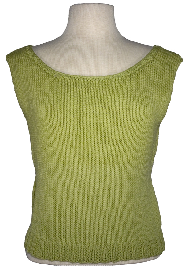 Momogus Knits Scoopneck Shell Knitting Pattern