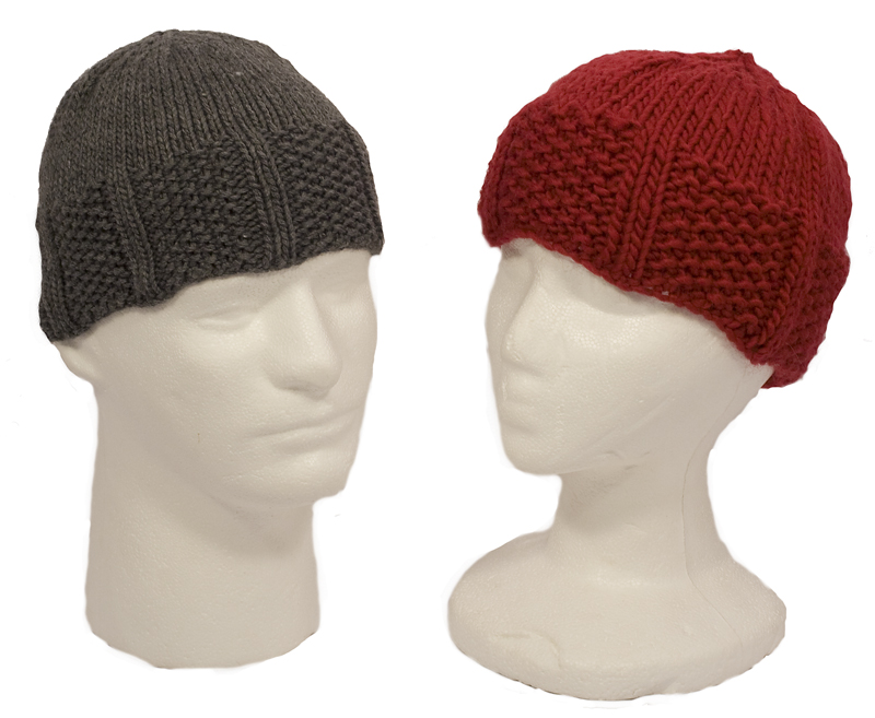 Momogus Knits gansey hat knitting pattern