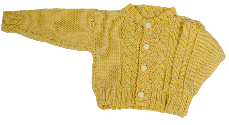 Baby Cardigan Knitting Pattern